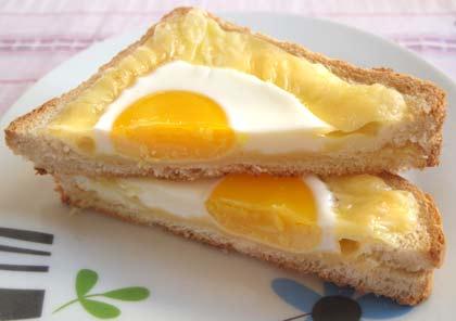 Αυγο-τοστάκια - συνταγή
