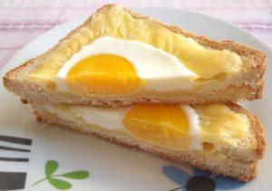 Αυγό-τοστάκια - Συνταγή