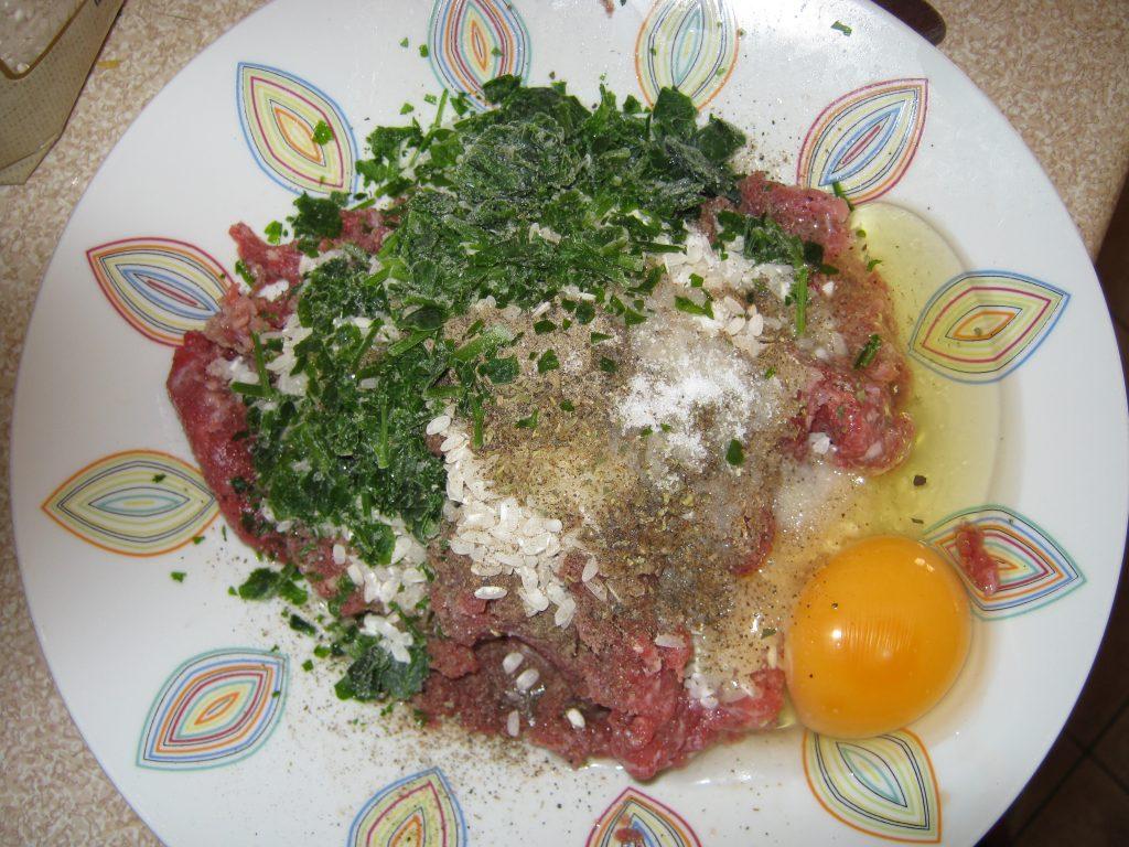 Γιουβαρλάκια αυγολέμονο συνταγή - 1