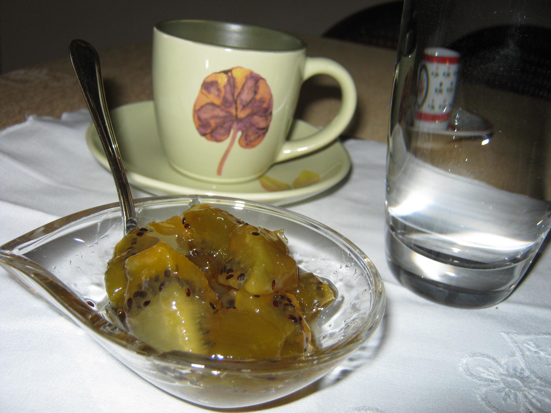 Γλυκό ακτινίδιο - Συνταγή - ηχωμαγειρέματα