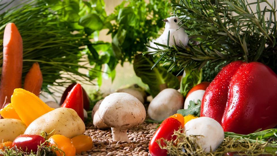 μανιτάρια και λαχανικά