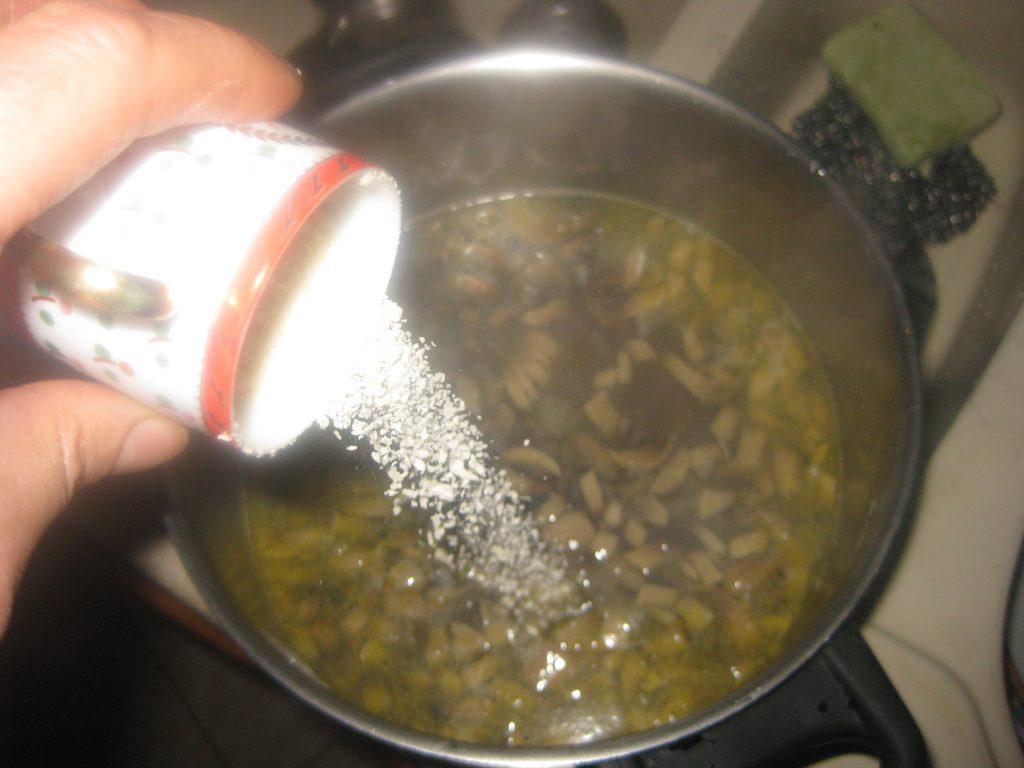 Συνταγή Μανιταρόσουπας 9
