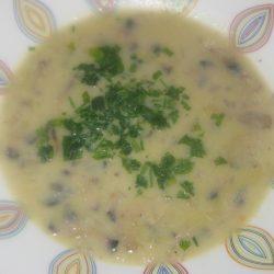 Μανιταρόσουπα με τραχανά