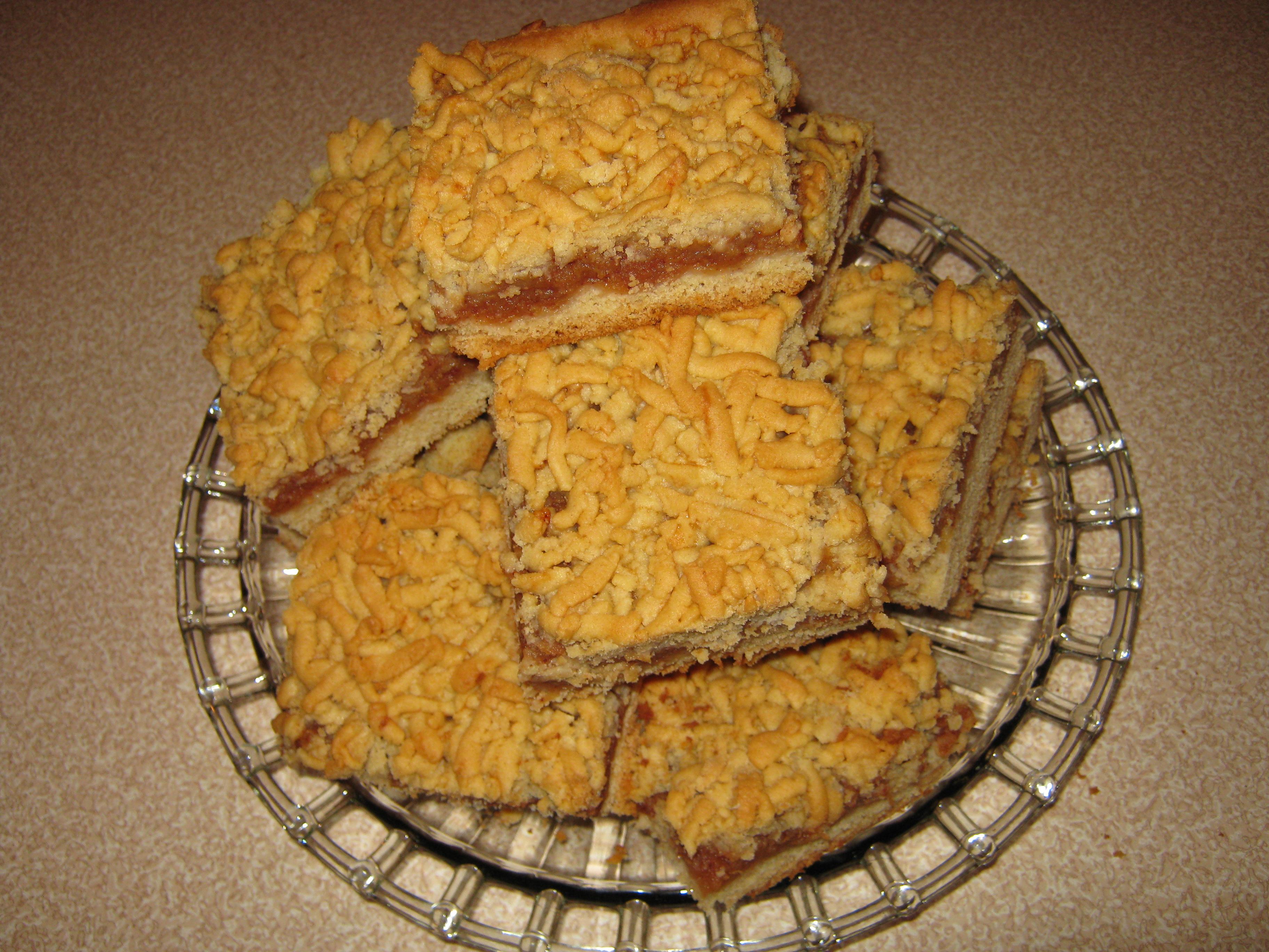Συνταγή για μηλόπιτα τριφτή - Γλυκό