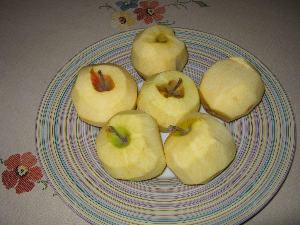 Συνταγή για μηλόπιτα τριφτή - 1