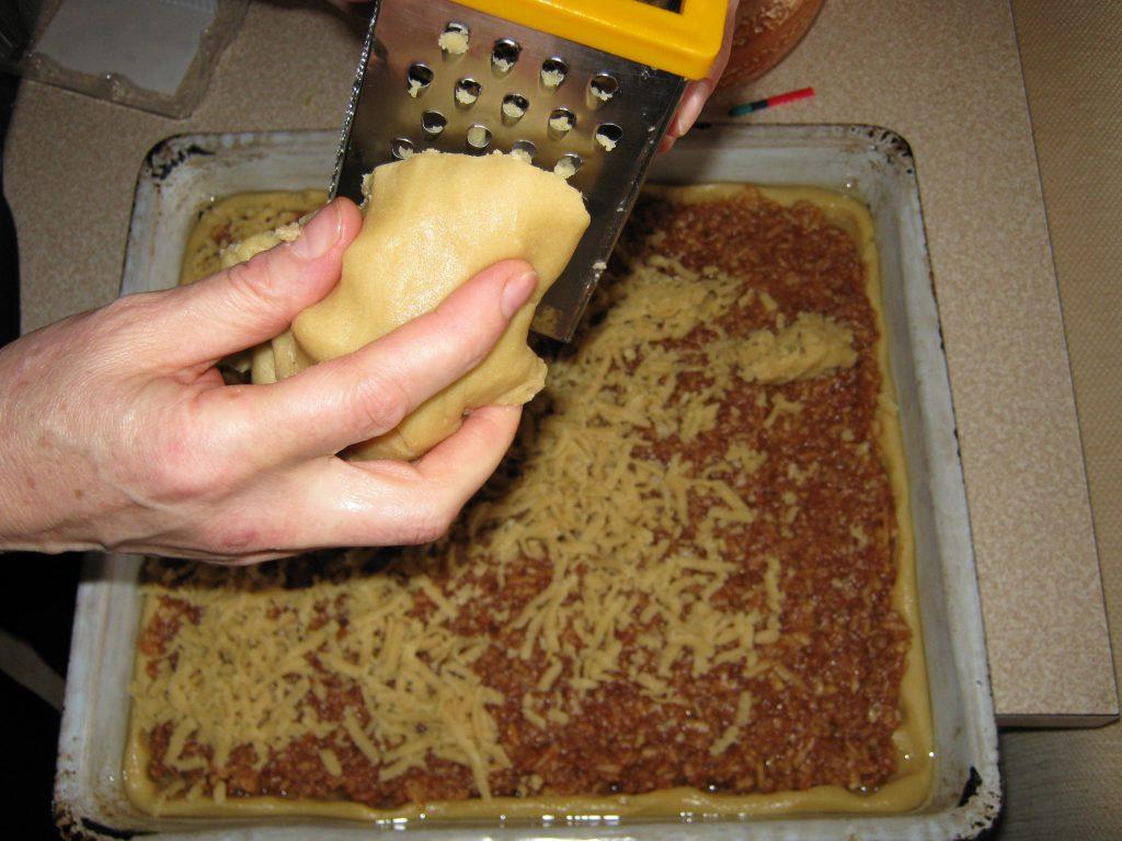 Συνταγή για μηλόπιτα τριφτή - 8