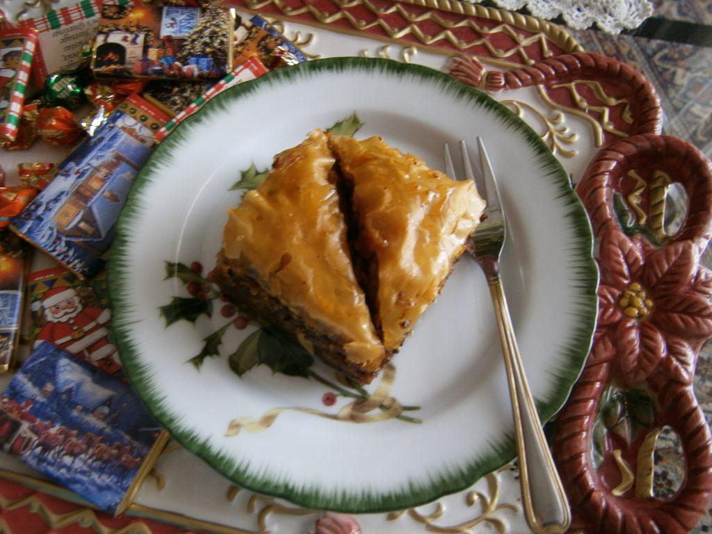 Μπακλαβάς της Αυγής - Συνταγή για γλυκό