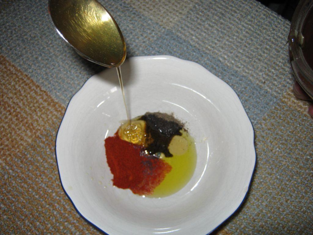 Σολωμός με μέλι - συνταγή ψάρι -2