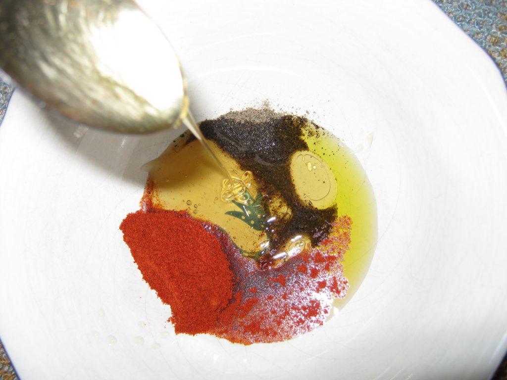 Σολωμός με μέλι - συνταγή ψάρι -3