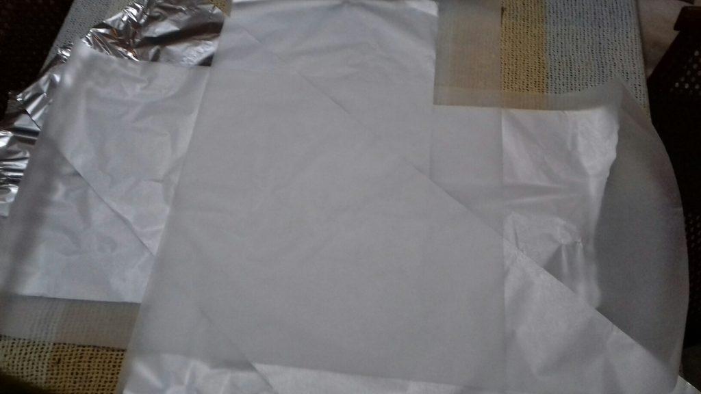 Χταποδάκι στο αλουμινόχαρτο - 2