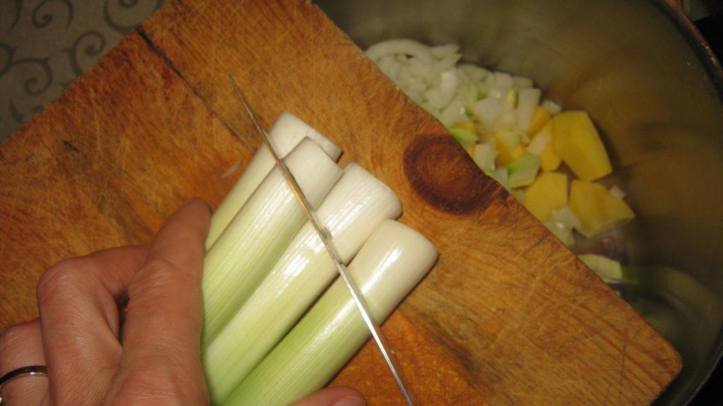 Καλοκαιρινή Πατατόσουπα - 1
