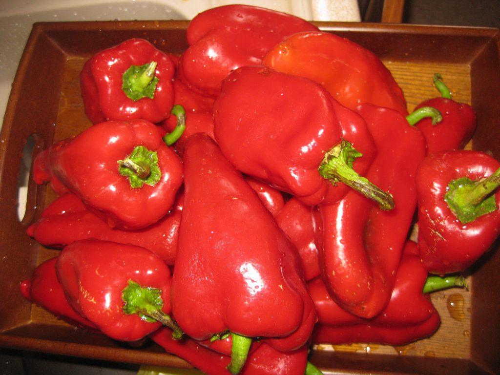 Κόκκινες πιπεριές τουρσί - 3