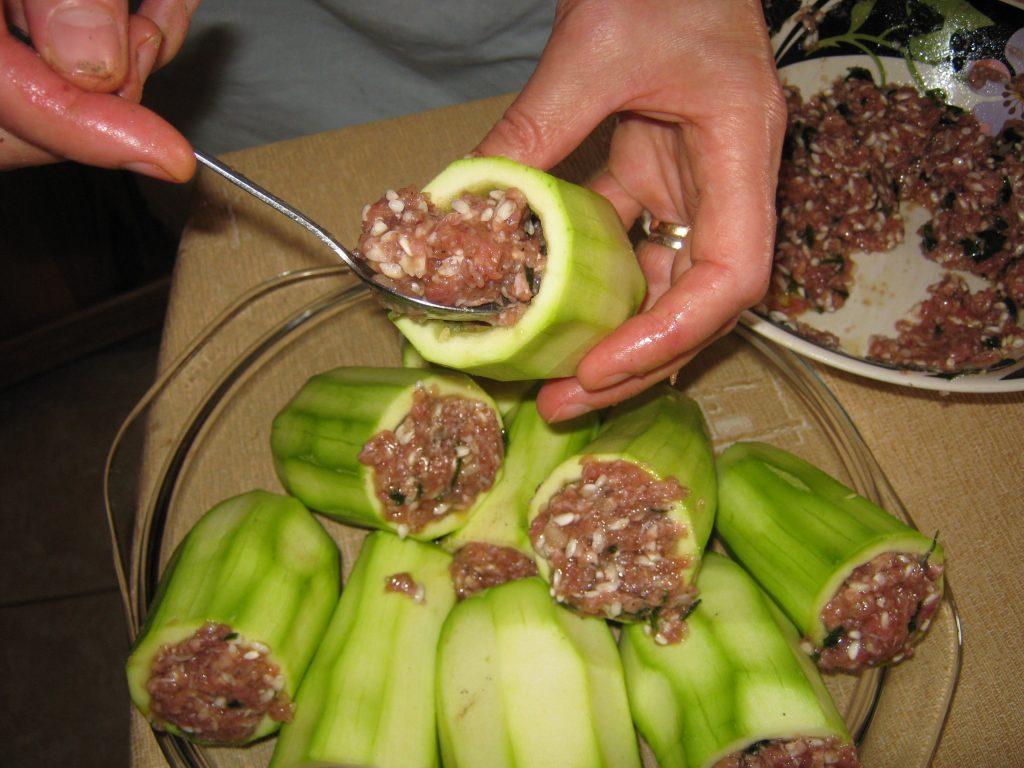 Κολοκυθάκια γεμιστά στη κατσαρόλα - 6