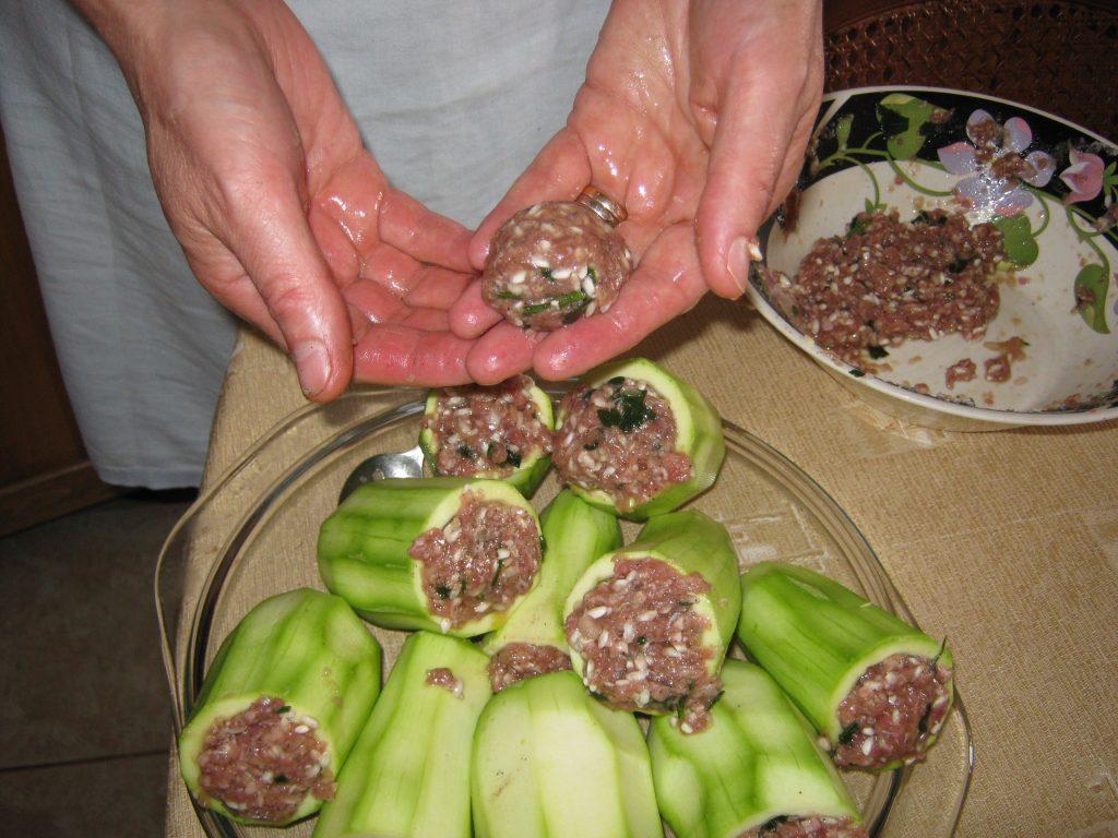Κολοκυθάκια γεμιστά στη κατσαρόλα - 7