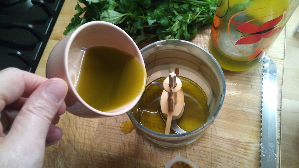 Λαυράκι με σάλτσα μαγιονέζας - 3