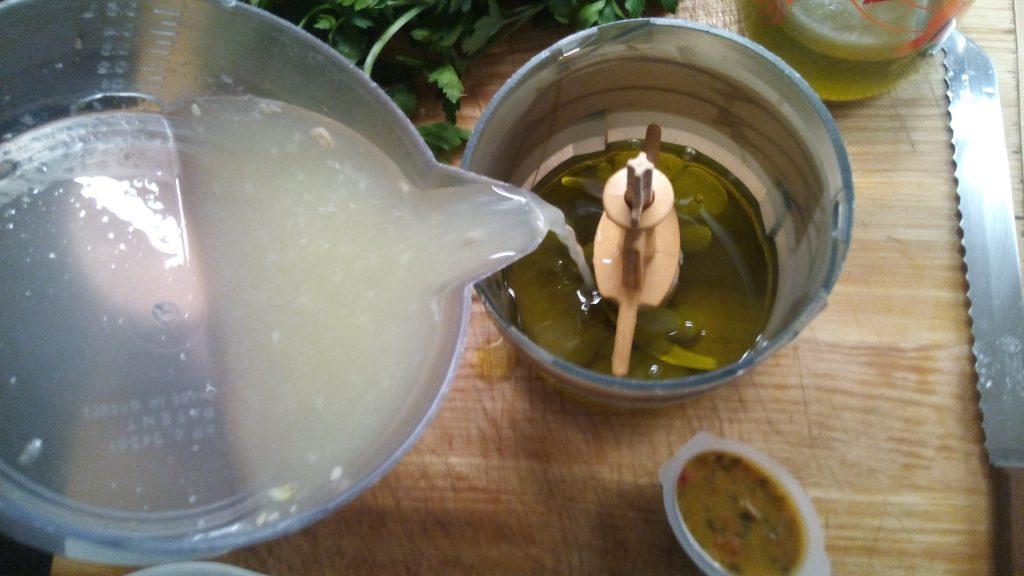 Λαυράκι με σάλτσα μαγιονέζας - 4