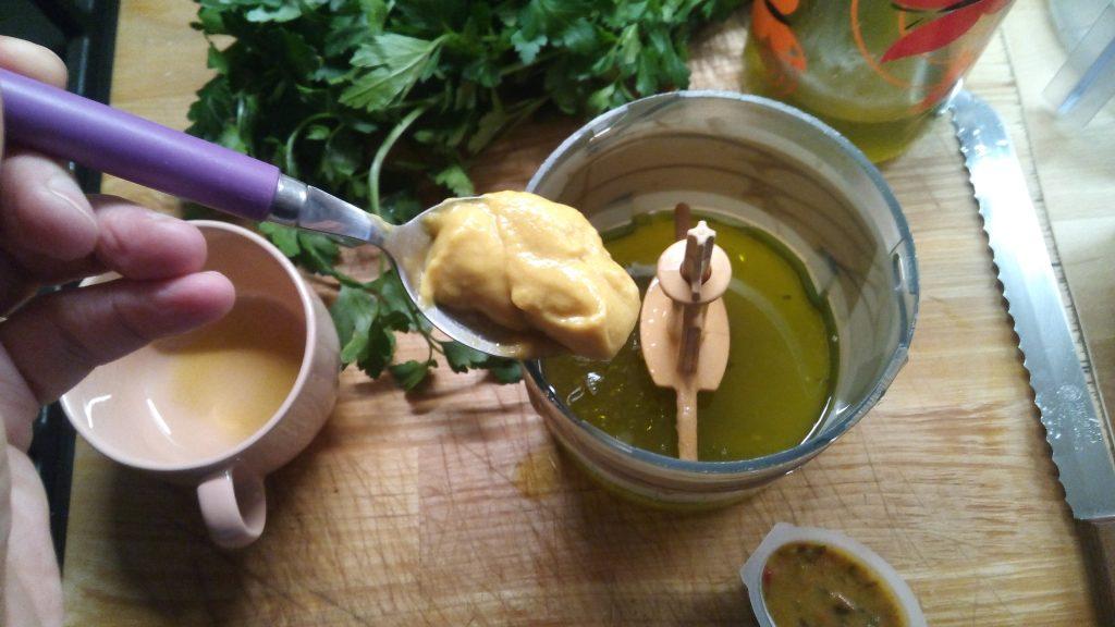 Λαυράκι με σάλτσα μαγιονέζας - 5