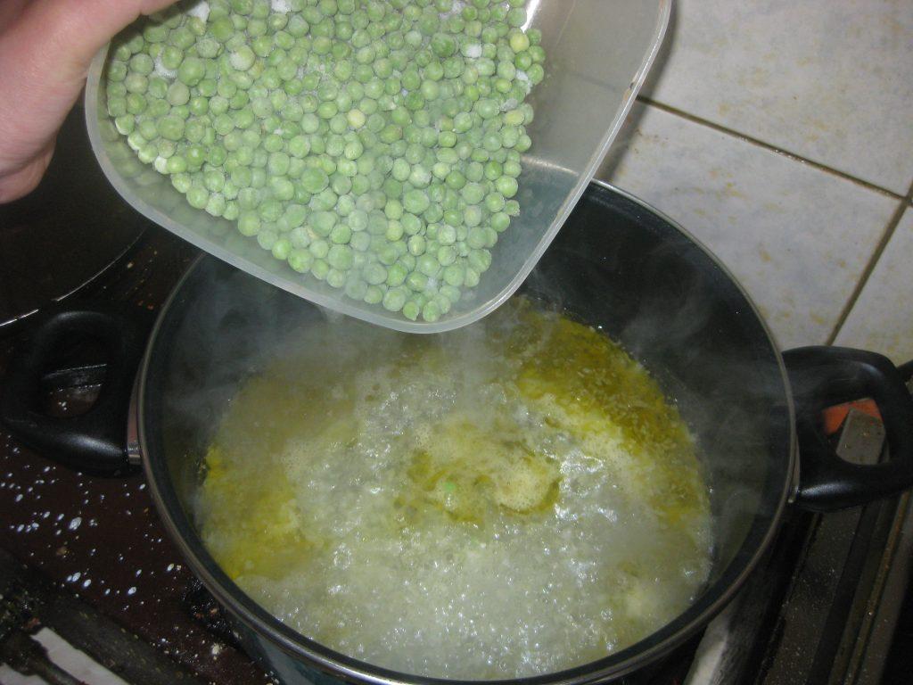 Λεμονάτες αγκινάρες με αρακά - 3