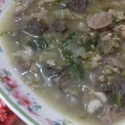Μαγειρίτσα παραδοσιακή της θείας Μέλπως