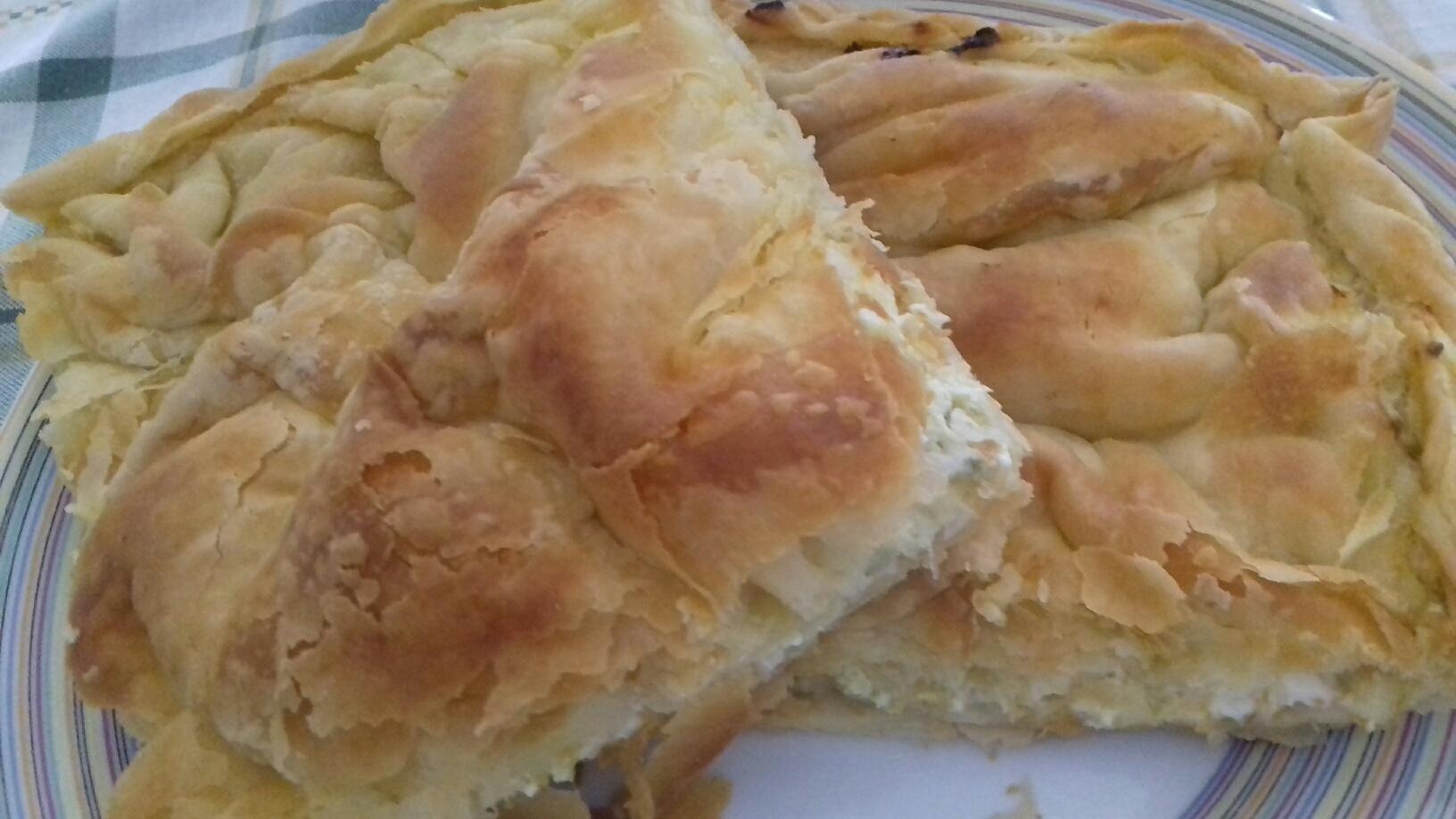 Πρασόπιτα Βλαχαρβανήτικη - Συνταγή - ηχωμαγειρέματα