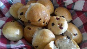 Σταφιδοψωμάκια νηστίσιμα - συνταγή - ηχωμαγειρέματα
