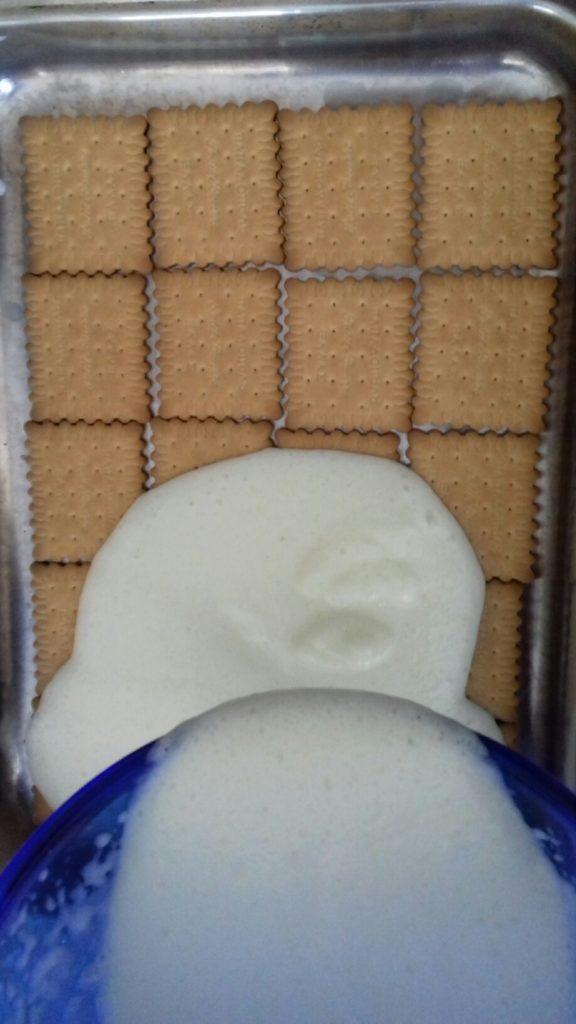 Τεμπελογλυκό με μπισκότα - 12
