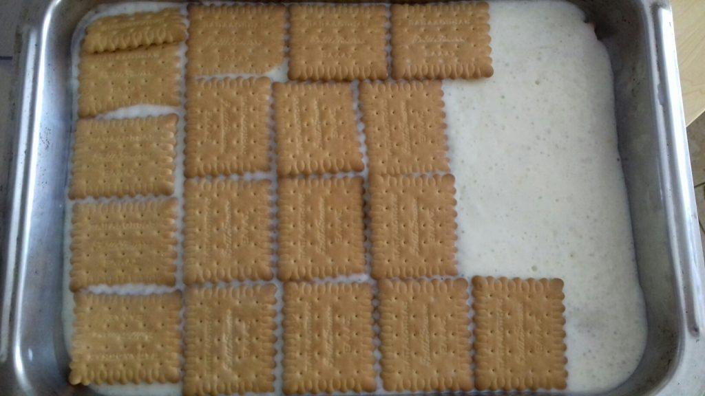 Τεμπελογλυκό με μπισκότα - 14