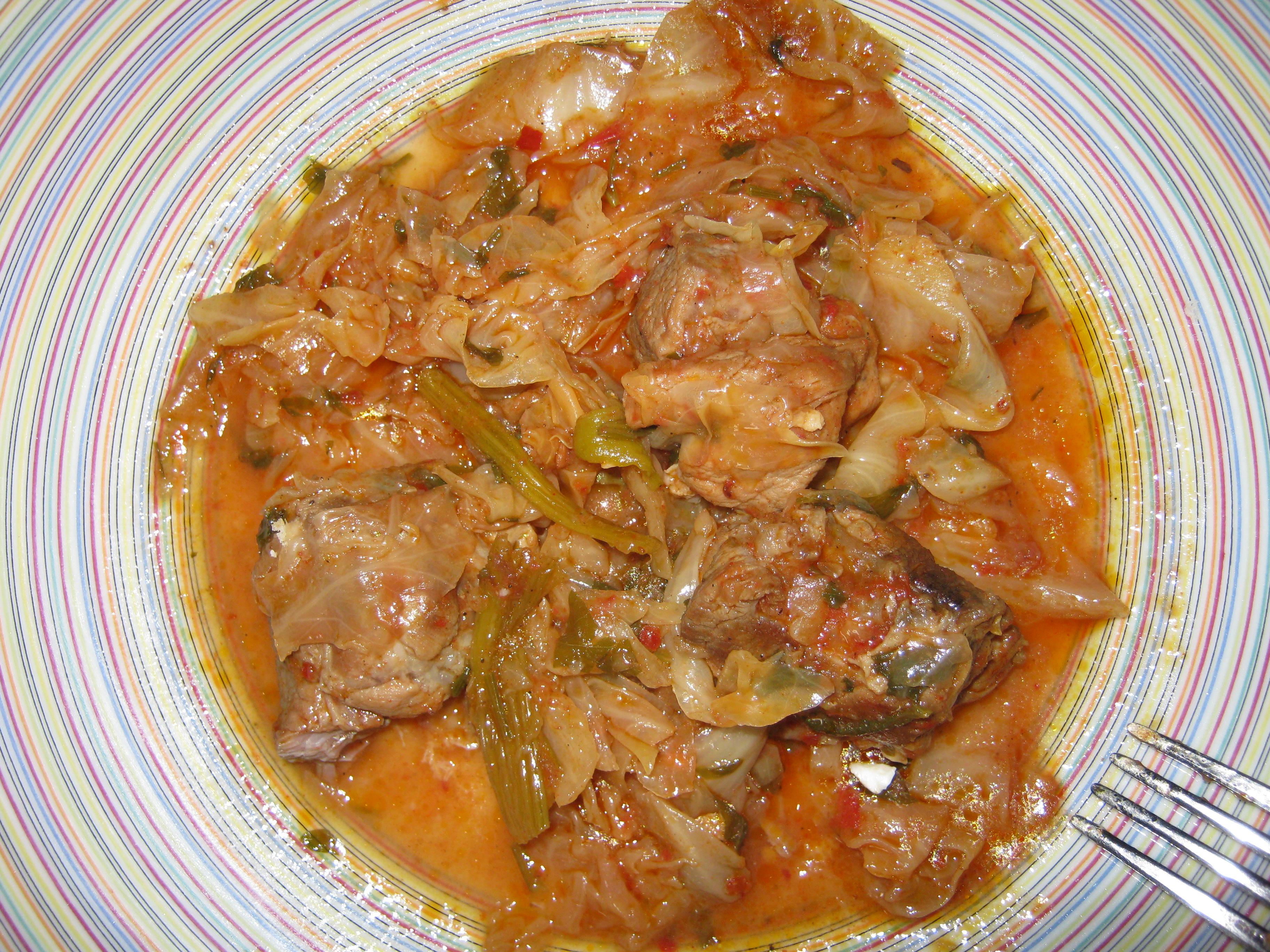 Τηγανιά με Λάχανο - Συνταγή - ηχωμαγειρέματα