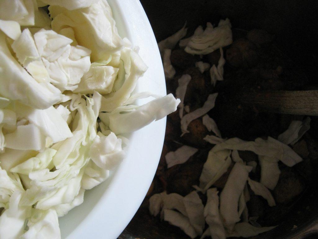 Τηγανιά με Λάχανο - 7