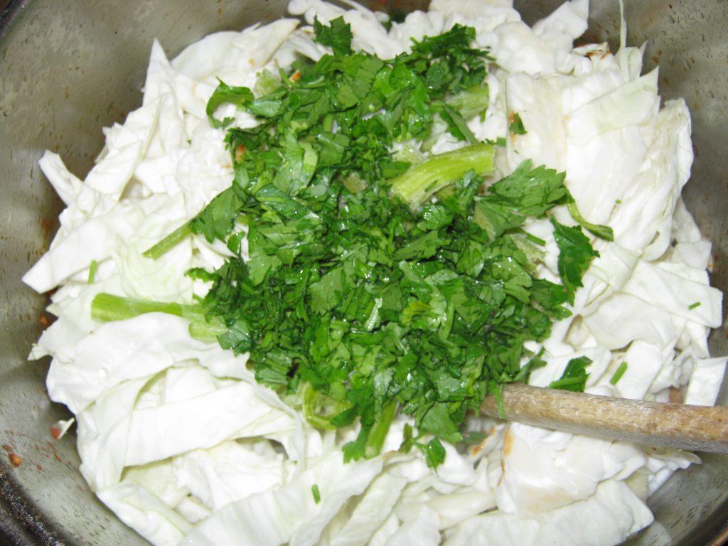Τηγανιά με Λάχανο - 8