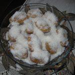 Τρυφερά γλυκάκια με ινδοκάρυδο (νηστίσιμα)