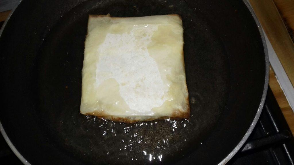 Φέτα σαγανάκι με φύλλο κρούστας & μέλι - 6