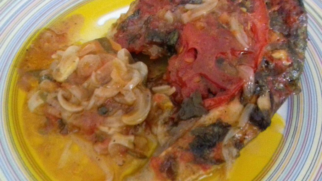 Ψάρι πλακί στο φούρνο - 610