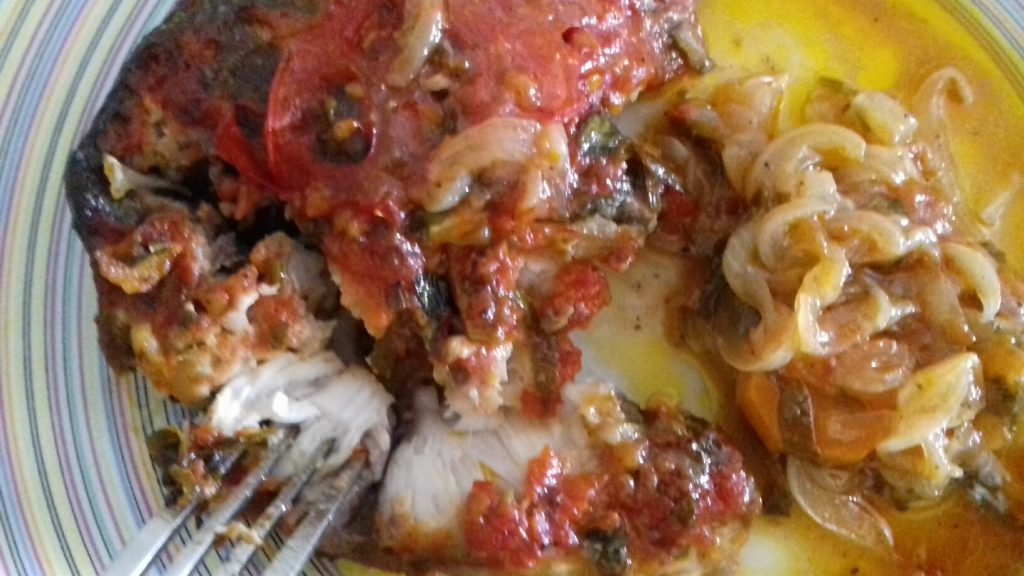 Ψάρι πλακί στο φούρνο - 613