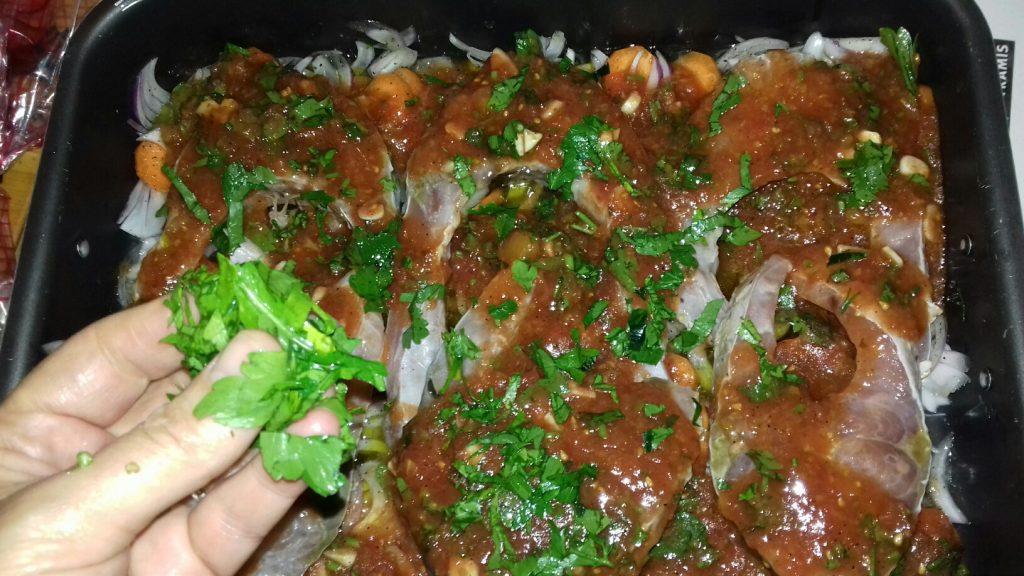 Ψάρι πλακί στο φούρνο - 5