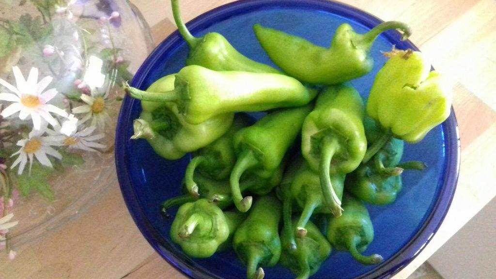 Πιπεριές γεμιστές με κρέμα φέτας - 1