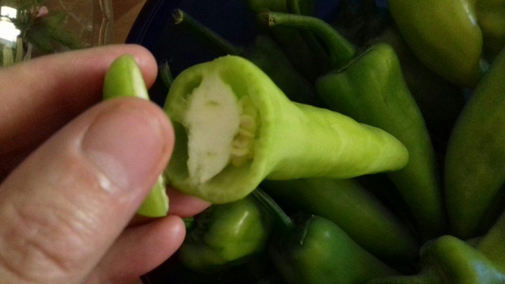 Πιπεριές γεμιστές με κρέμα φέτας - 5