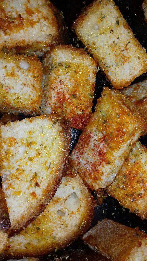 Κρουτονάκια με μπαγιάτικο ψωμί - 14