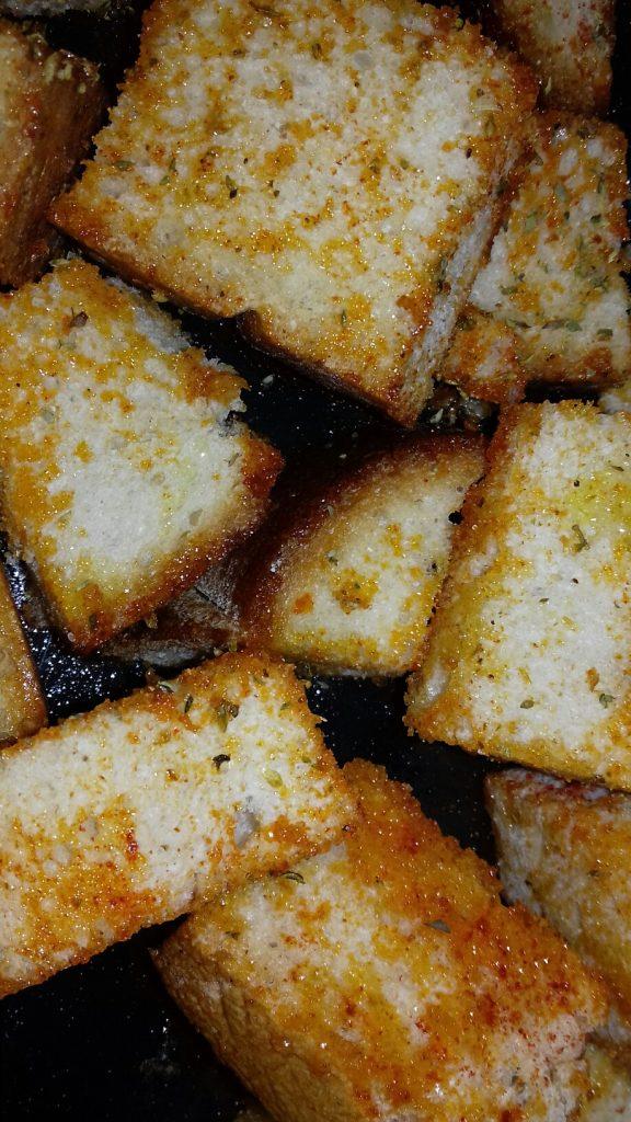 Κρουτονάκια με μπαγιάτικο ψωμί - 16