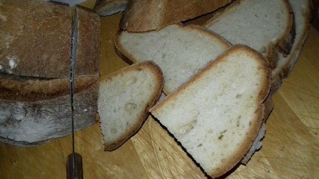 Κρουτονάκια με μπαγιάτικο ψωμί - 2