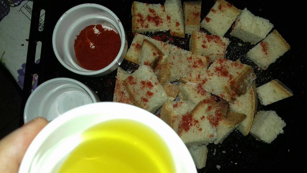 Κρουτονάκια με μπαγιάτικο ψωμί - 9