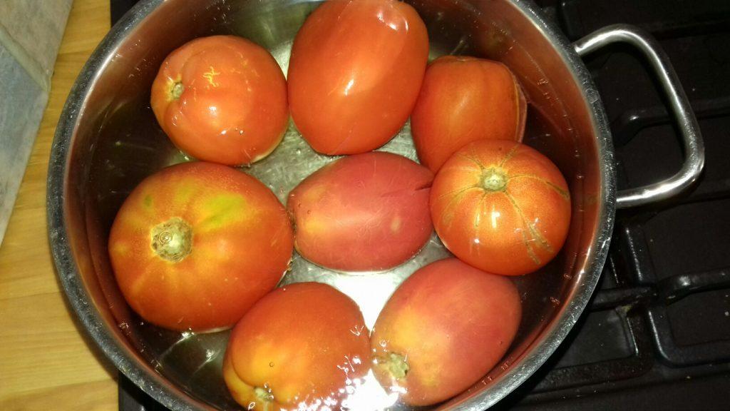 Σάλτσα ντομάτας - 1ος τρόπος - 6