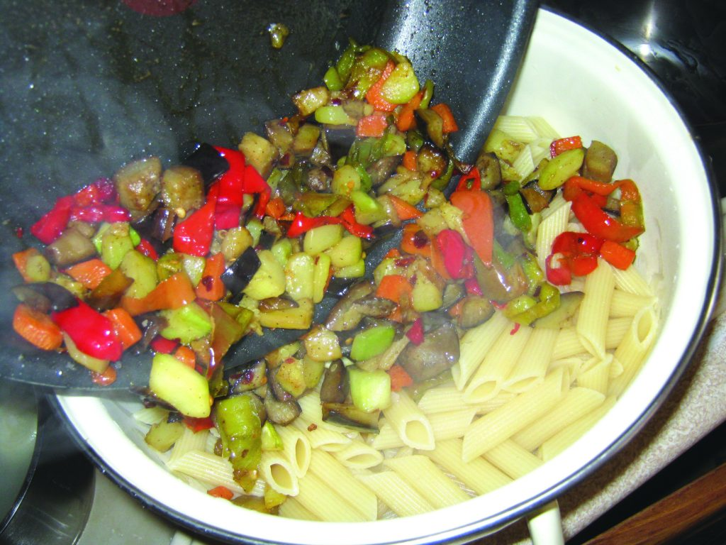 Ζυμαρικά με λαχανικά και κρέμα τυριών - 14