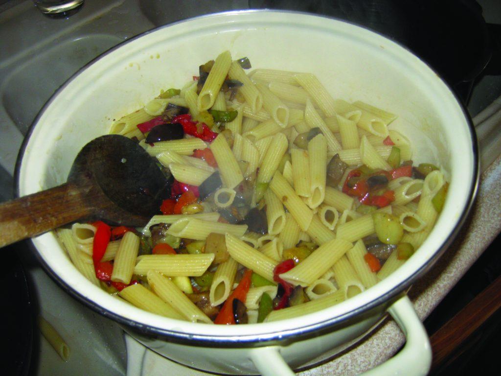 Ζυμαρικά με λαχανικά και κρέμα τυριών - 15