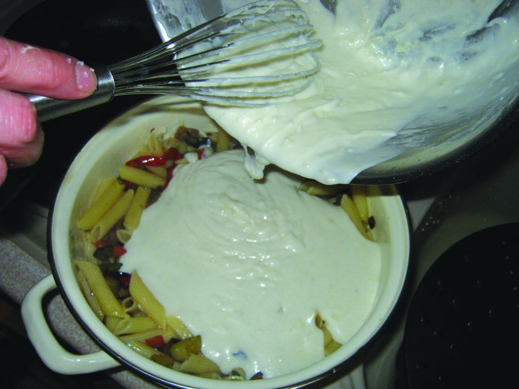 Ζυμαρικά με λαχανικά και κρέμα τυριών - 18