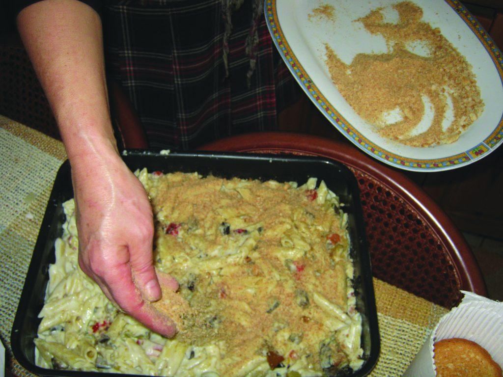 Ζυμαρικά με λαχανικά και κρέμα τυριών - 19