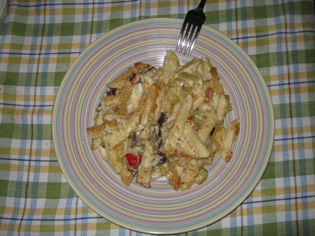 Ζυμαρικά με λαχανικά και κρέμα τυριών - 22