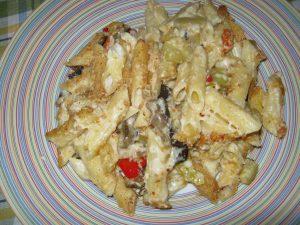 Ζυμαρικά με λαχανικά και κρέμα τυριών - 24