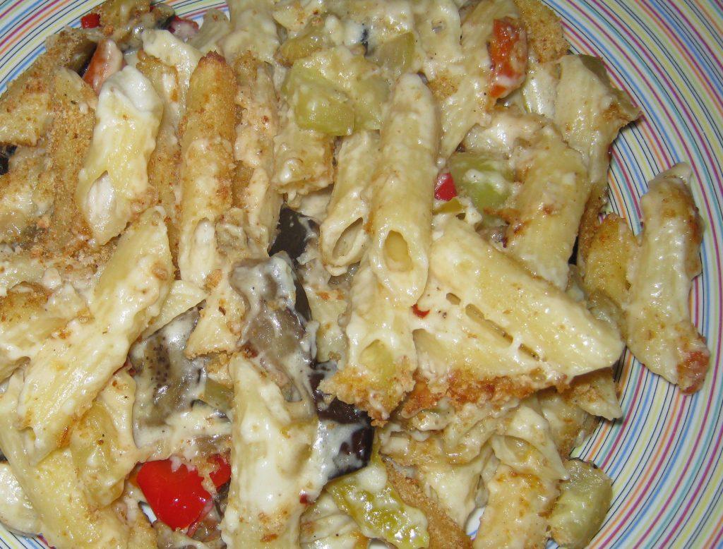 Ζυμαρικά με λαχανικά και κρέμα τυριών - 26