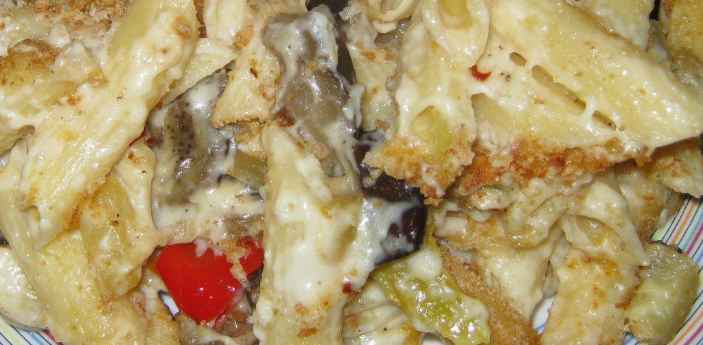 Ζυμαρικά με λαχανικά και κρέμα τυριών - 27